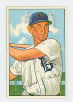 1952 Bowman Baseball 183 Pat Mullin Detroit Tigers Excellent