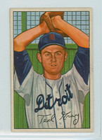 1952 Bowman Baseball 199 Ted Gray Detroit Tigers Excellent