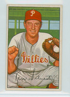 1952 Bowman Baseball 200 Ken Silvestri Philadelphia Phillies Very Good to Excellent
