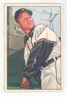 1952 Bowman Baseball 215 Sheldon Jones Boston Braves Excellent