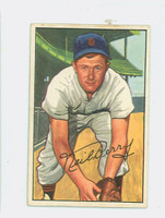 1952 Bowman Baseball 219 Neil Berry High Number Detroit Tigers Very Good