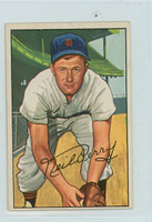1952 Bowman Baseball 219 Neil Berry High Number Detroit Tigers Very Good to Excellent