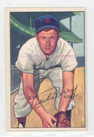 1952 Bowman Baseball 219 Neil Berry High Number Detroit Tigers Excellent