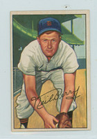 1952 Bowman Baseball 219 Neil Berry High Number Detroit Tigers Excellent to Excellent Plus
