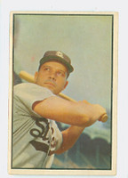 1953 Bowman Color Baseball 2 Vic Wertz Boston Red Sox Excellent