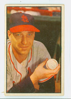 1953 Bowman Color Baseball 17 Gerry Staley St. Louis Cardinals Very Good