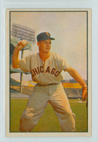 1953 Bowman Color Baseball 18 Nellie Fox Chicago White Sox Excellent