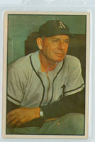 1953 Bowman Color Baseball 31 Jimmy Dykes Philadelphia Athletics Excellent