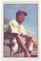 1953 Bowman Color Baseball 40 Larry Doby Cleveland Indians Excellent