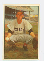 1953 Bowman Color Baseball 41 Sammy White Boston Red Sox Very Good
