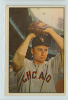 1953 Bowman Color Baseball 50 Lou Kretlow Chicago White Sox Good to Very Good