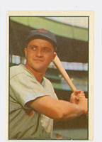 1953 Bowman Color Baseball 58 Willard Marshall Cincinnati Reds Very Good to Excellent