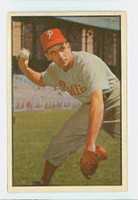 1953 Bowman Color Baseball 60 Granny Hamner Philadelphia Phillies Excellent