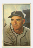 1953 Bowman Color Baseball 95 Wally Moses Philadelphia Athletics Very Good