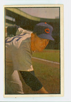 1953 Bowman Color Baseball 154 Turk Lown High Number Chicago Cubs Good to Very Good