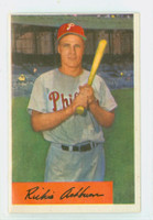 1954 Bowman Baseball 15 Richie Ashburn Philadelphia Phillies Excellent