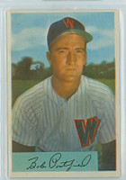 1954 Bowman Baseball 24 Bob Porterfield Washington Senators Near-Mint