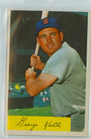 1954 Bowman Baseball 50 George Kell Boston Red Sox Excellent to Excellent Plus