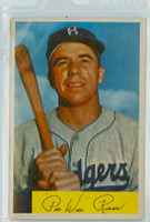 1954 Bowman Baseball 58 Pee Wee Reese Brooklyn Dodgers Excellent to Mint