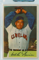 1954 Bowman Baseball 100 Mike Garcia Cleveland Indians Excellent to Mint