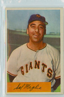 1954 Bowman Baseball 105 b Sal Maglie QUIZ 1904  New York Giants Excellent to Mint