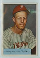 1954 Bowman Baseball 111 Murry Dickson Philadelphia Phillies Near-Mint