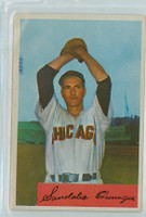 1954 Bowman Baseball 166 Sandy Consuegra Chicago White Sox Excellent to Mint