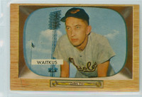 1955 Bowman Baseball 4 Eddie Waitkus Baltimore Orioles Near-Mint Plus
