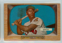 1955 Bowman Baseball 20 Al Smith Cleveland Indians Very Good to Excellent