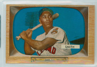 1955 Bowman Baseball 20 Al Smith Cleveland Indians Excellent to Mint