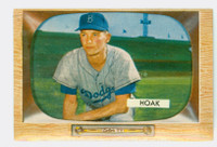 1955 Bowman Baseball 21 Don Hoak Brooklyn Dodgers Excellent to Mint