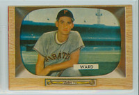 1955 Bowman Baseball 27 Preston Ward Pittsburgh Pirates Excellent to Mint