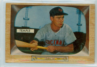 1955 Bowman Baseball 31 Johnny Temple Cincinnati Reds Near-Mint Plus