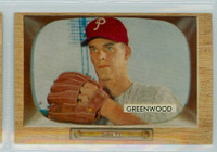 1955 Bowman Baseball 42 Bob Greenwood Philadelphia Phillies Very Good to Excellent