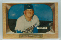 1955 Bowman Baseball 53 Alex Kellner Kansas City Athletics Near-Mint