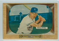 1955 Bowman Baseball 54 Don Bollweg Kansas City Athletics Excellent to Mint