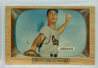 1955 Bowman Baseball 55 Cal Abrams Baltimore Orioles Very Good to Excellent