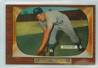1955 Bowman Baseball 69 Bill Hunter New York Yankees Near-Mint