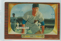 1955 Bowman Baseball 104 Bob Porterfield Washington Senators Excellent to Mint