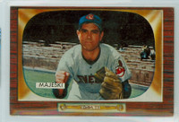 1955 Bowman Baseball 127 Hank Majeski Cleveland Indians Excellent to Mint
