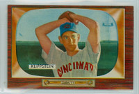 1955 Bowman Baseball 152 Johnny Klippstein Near-Mint Plus