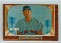 1955 Bowman Baseball 155 Gerry Staley Cincinnati Reds Very Good