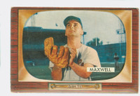 1955 Bowman Baseball 162 Charlie Maxwell Baltimore Orioles Very Good