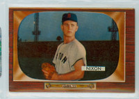 1955 Bowman Baseball 177 Willard Nixon Boston Red Sox Very Good