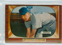 1955 Bowman Baseball 181 Eddie Miksis Chicago Cubs Excellent