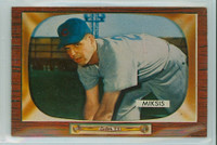 1955 Bowman Baseball 181 Eddie Miksis Chicago Cubs Near-Mint Plus