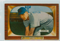 1955 Bowman Baseball 181 Eddie Miksis Chicago Cubs Near-Mint to Mint
