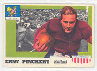 1955 Topps AA Football 4 Erny Pinckert USC Trojans Very Good to Excellent