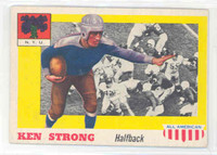 1955 Topps AA Football 24 Ken Strong  NYU Excellent