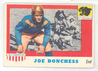 1955 Topps AA Football 65 Joe Donchess Single Print Pitt Panthers Excellent